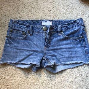 FP Denim Shorts